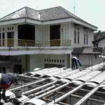 Plat Lantai Solusi Rumah Holcim, Supportbeam dan Curvetile